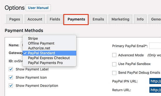 mp payments